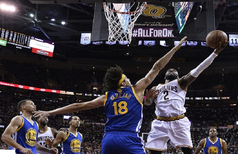 Golden State Warriors beat Cleveland Cavaliers 104-89 in NBA finals - Pink 96.9 fm
