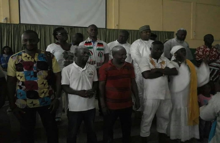 new executives of the NDC
